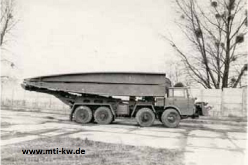 BTF-74 in Transportposition
